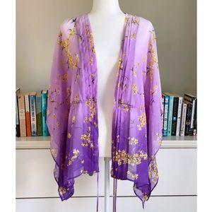 Purple Ombré Kimono